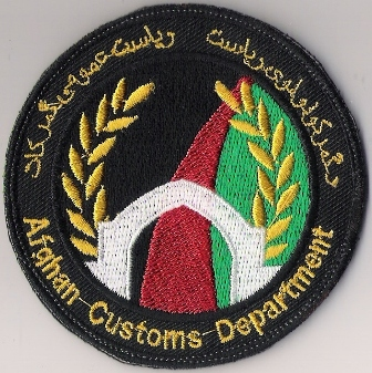 Afghan Customs Department black