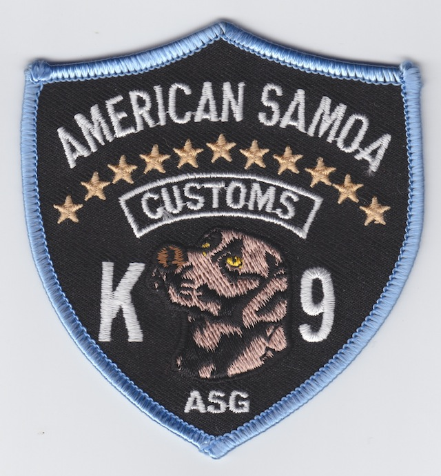 AS 002 K 9 Unit Patch current Style