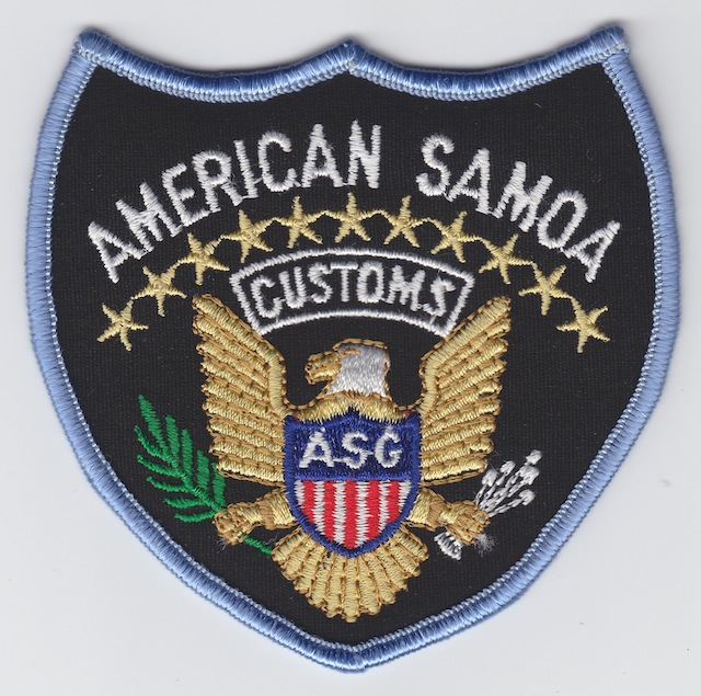 AS 003 Customs Service big Patch