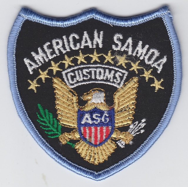 AS 004 Customs Service small Patch