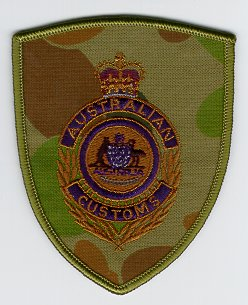 Australian Customs Shoulder Insignia