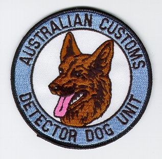 Australian Customs Detector Dog Unit