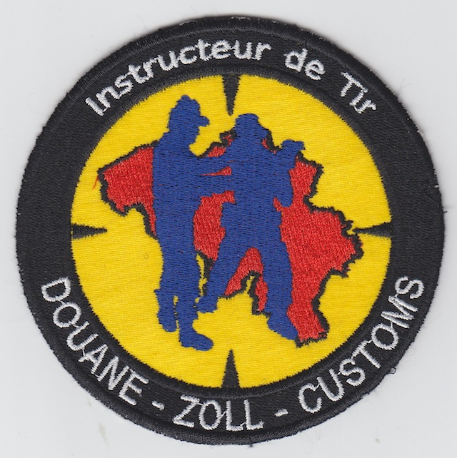 BE 001 Shooting Instructor Belgium Customs