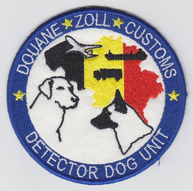 BE 002 Detector Dog Unit Belgium Customs