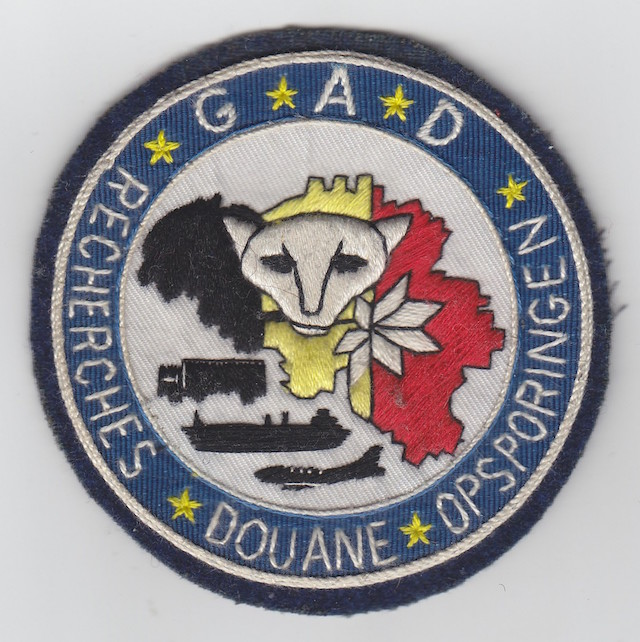 BE 003 Belgian Customs Special Unit G.A