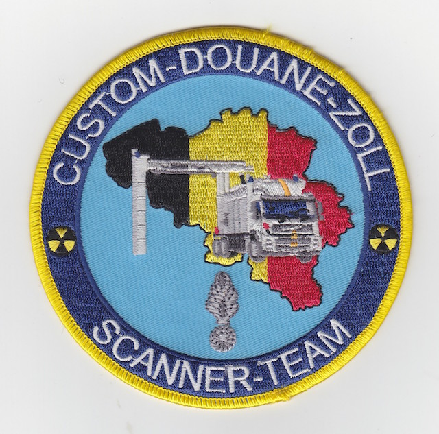 Belgium Customs Container Scanner Team
