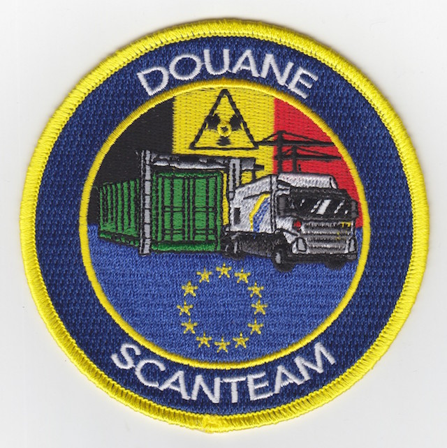 Belgium Customs Scanner Team - alternate version