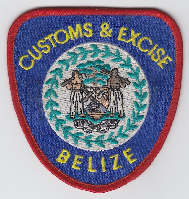 BZ 001 Belize Customs  Excise current Style