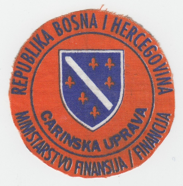 BH 003 Federal Finance Ministery Carinska Uprava old Print Patch