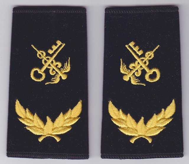 CN 006 Shoulder Loops Rank Insignia Ceremonial Uniform