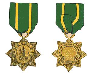 China maritime customs medals 1932