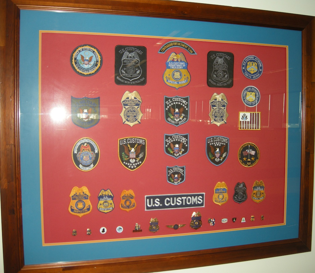 Legacy US Customs display
