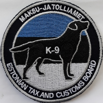 estonian customs k9