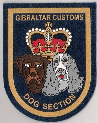 gibraltar customs dog unit