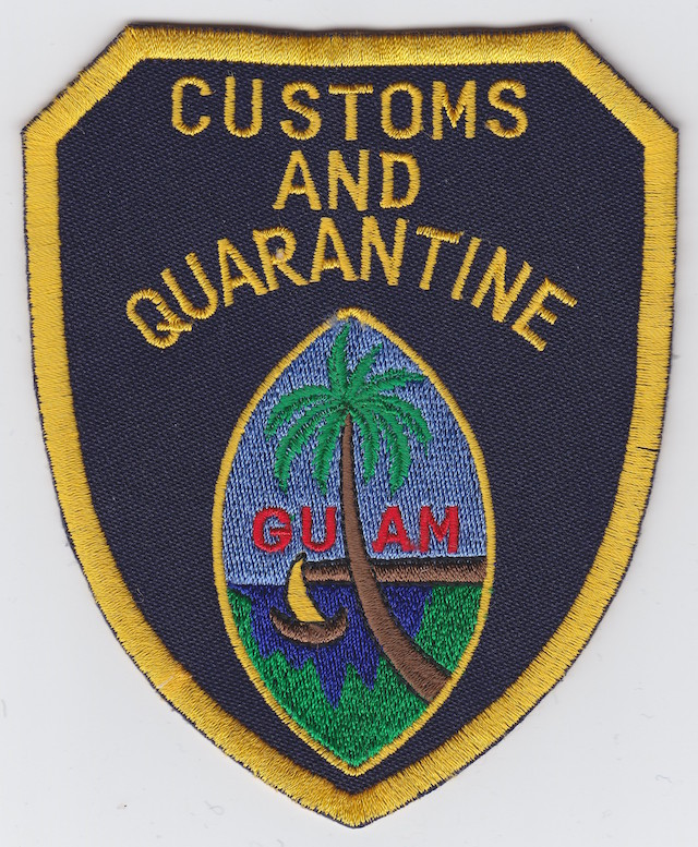 GU 001 Customs and Quarantine very old Style Version I