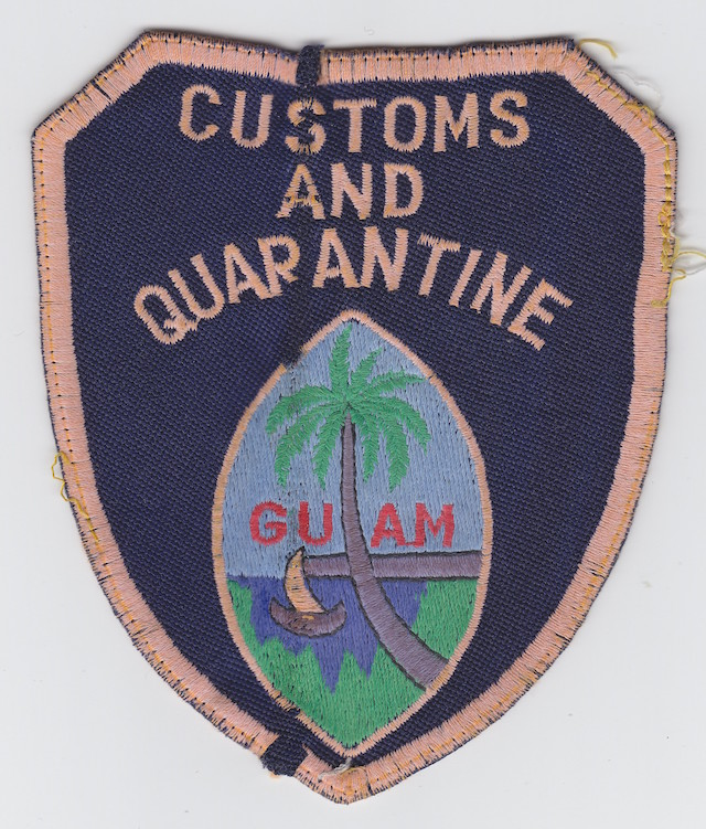 GU 002 Customs and Quarantine very old Style Version II