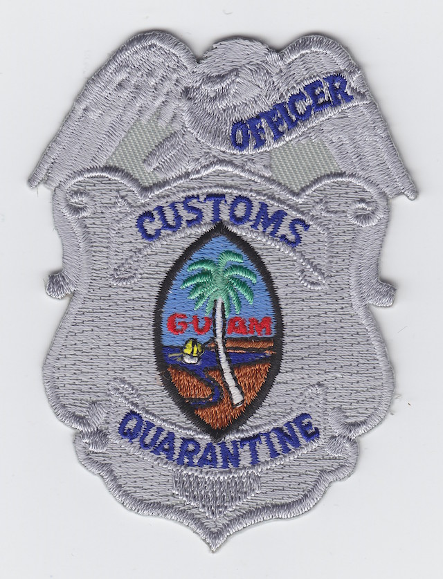 GU 007 Breast Eagle Patch Rank Officer