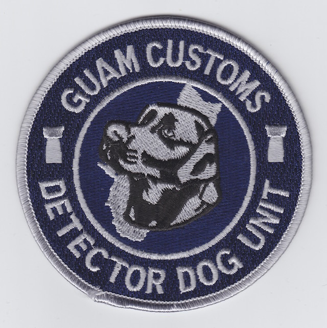 GU 013 Detector Dog Unit current Style subdued Version