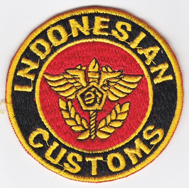 ID_001_Indonesian_Customs_Service_yellow_Border_big_Patch_-_big_Letters