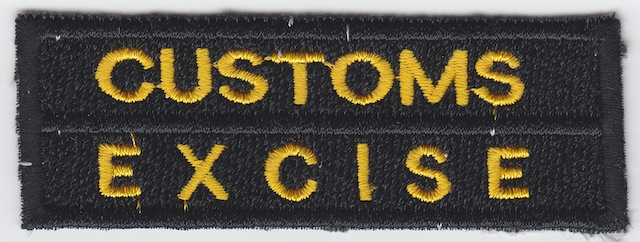 ID_033_Text_Patch_Customs__Excise_Version_Black_small_Letters