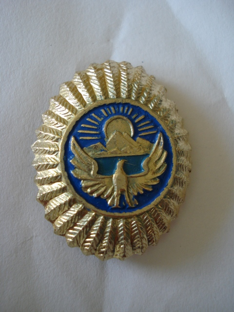 Kyrgyz cap.badge