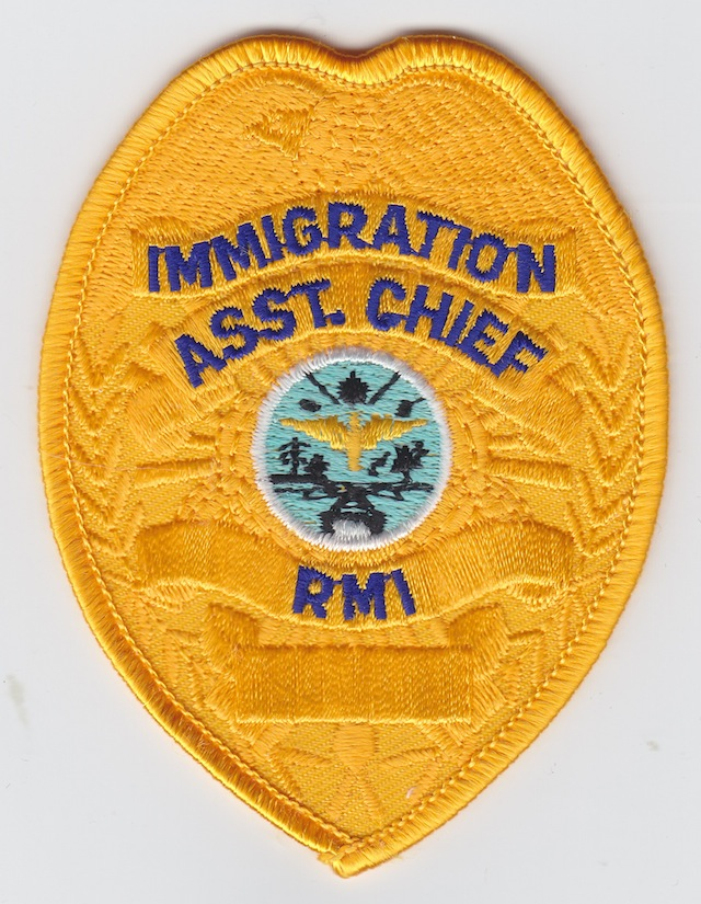 MH 005 Immigration Service Rank Ass. Chief