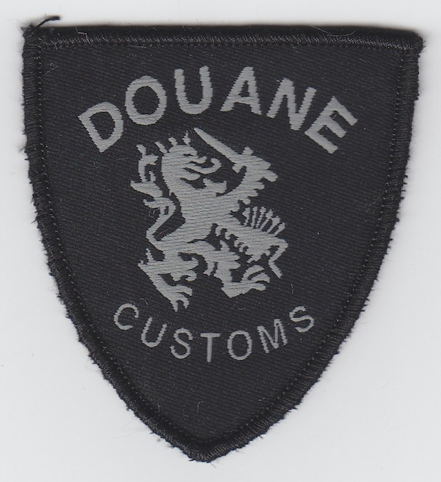 NL_003_Shoulder_Patch_DOUANE_-_CUSTOMS