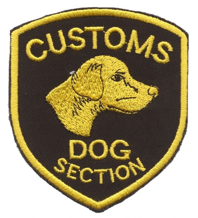 NZ_Customs_dog_section_black_gold
