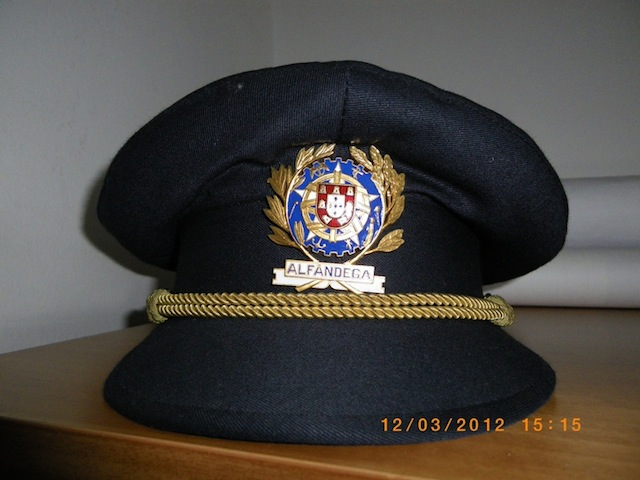 Portuguese Customs Officer Cap