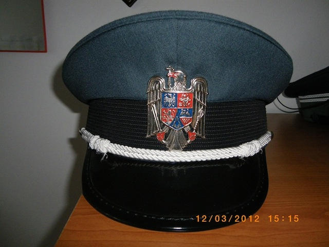 Romanian Customs Officer Cap