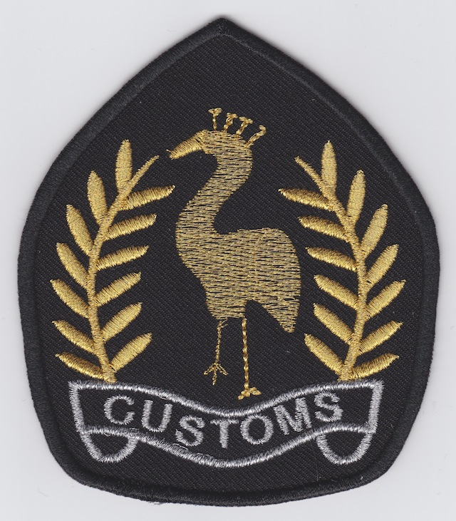 RW 001 Shoulder Patch current Style