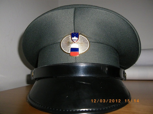 Slovenian Customs Cap