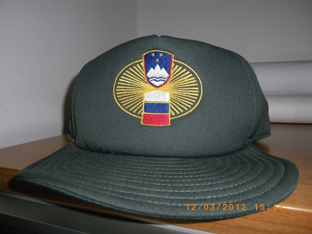 Slovenian Customs Officer baseball cap