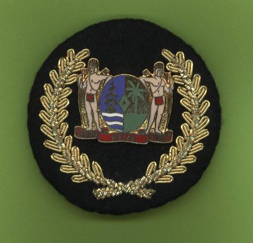 surinam hat badge