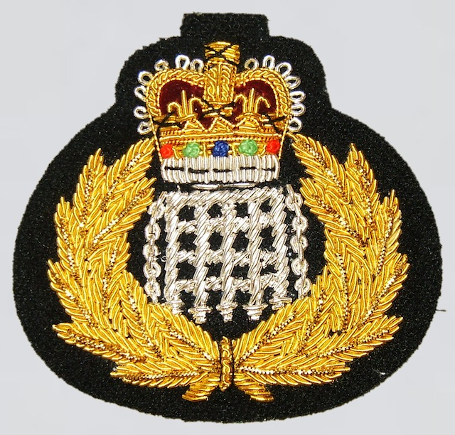 UK 006 Hat Patch Bullion - Type I