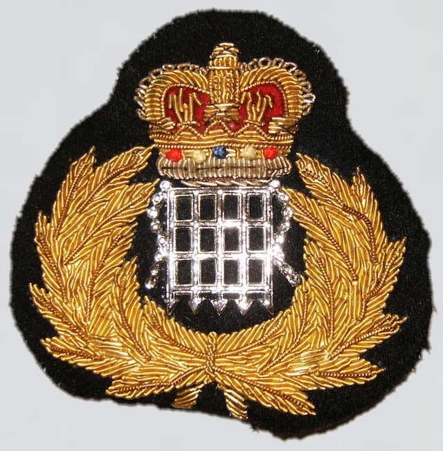 UK 007 Hat Patch Bullion  Type II